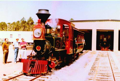 Image of Fort Wilderness Train barn.