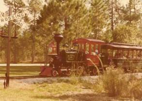 Image of Fort Wilderness train
