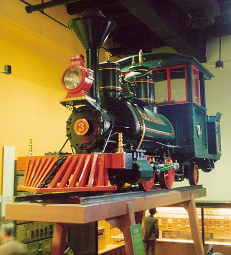 Image of Fort Wilderness train at MAPO