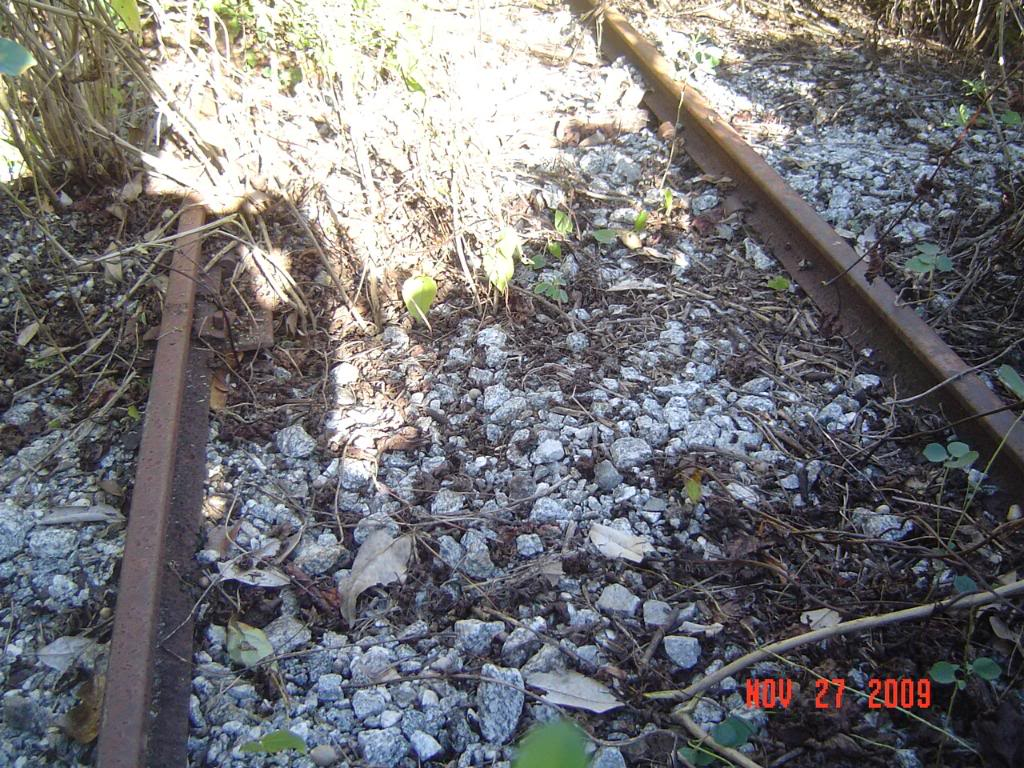 Image of abandoned tracks